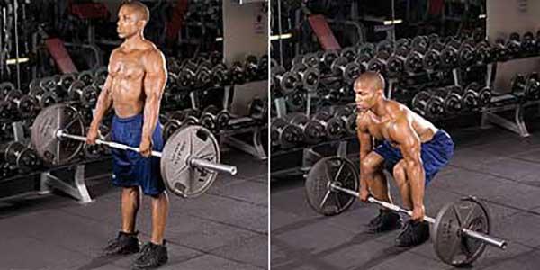Становая тяга для тренировки спины