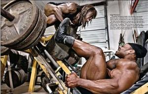 тренировка мышц ног