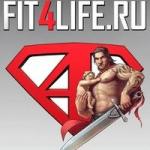 логотип сайта fit4life.ru